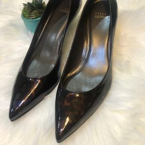 Stuart Weitzman tortoise shell pumps pointed Heels